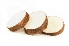 Yuca root Royalty Free Stock Photos