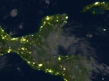 Yucatan at night on planet Earth Royalty Free Stock Photos