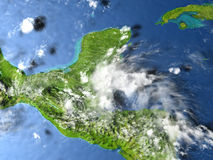 Yucatan on planet Earth Stock Images
