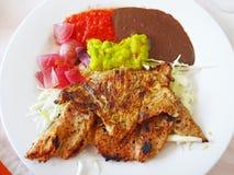 Yucatan-Schweinefleisch-Teller stockfotos