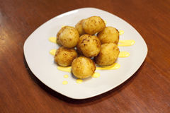 Yucca croquettes Royalty Free Stock Photos