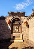 Yuci old town scene-Chinese ancient County prison gate Royalty Free Stock Photos