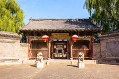 Yuci old town scene-The County Yamen-ancientry the government of countries in China. Stock Photos