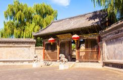 Yuci old town scene-The County Yamen-ancientry the government of countries in China. Royalty Free Stock Photos