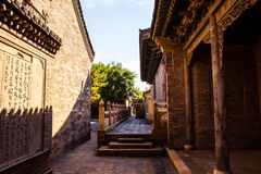 Yuci old town scene-The County Yamen-ancientry the government of countries in China. Royalty Free Stock Images
