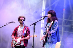 Yuck (band) performs at MBC Fest Stock Photos
