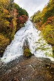Yudaki Spada w jesień sezonie przy Nikko, Japonia obraz stock