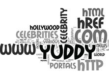Yuddycom Provides The Celebraties And Biography Of Top Hollywood Actress And Actors Word Cloud. YUDDYCOM PROVIDES THE CELEBRATIES AND BIOGRAPHY OF TOP HOLLYWOOD Stock Photos
