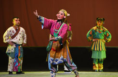 "Yue Ling-Children's Beijing Opera""Yue teenager"" Stock Images"
