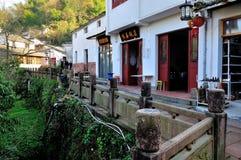 Yuehuatian街道 库存照片