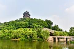 Yuejiang Tower Stock Photography