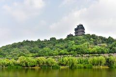 Yuejiang Tower Stock Photo
