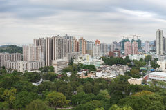 Yuen Long District, Hong Kong city Royalty Free Stock Images