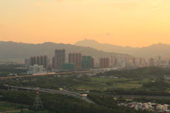 Yuen Long district, shooting at Kai Kung Leng Royalty Free Stock Photos