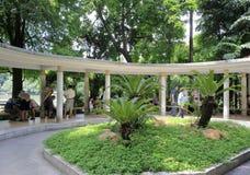 yuexiu公园,广州市,瓷散步  免版税库存照片