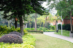 Yuexiu park scenery Royalty Free Stock Photography