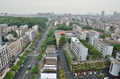 Yueyang, China cityscape Stock Image