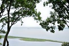 Yueyang City, Hunan province China. Asian scenery in Hunan province China Yueyang Dongting Junshan Scenic Area Stock Image