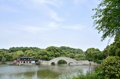 Yueyang City, Hunan province China Royalty Free Stock Image