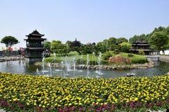 Yueyang miasto, prowincja hunan Chiny Fotografia Stock