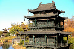 Yueyang tower and gate Royalty Free Stock Image