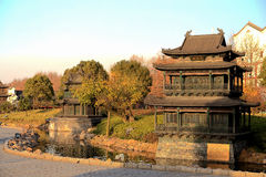 Yueyang tower and gate Stock Images