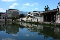 Yuezhao nel villaggio di Hongcun Immagine Stock Libera da Diritti
