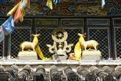 Yufeng tempel Royaltyfri Foto