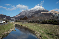 Yufudake Mt Arkivbild