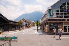 Yufuin Main Street Foto de archivo