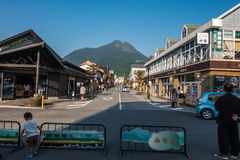 Yufuin in Oita, Japan. Stock Images