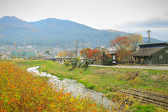 Yufuin Town Oita, Kyushu, Japan Stock Image