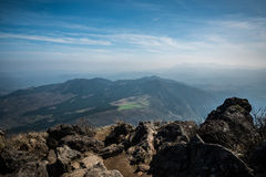 Yufujima peak Stock Photography