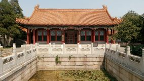 Yuhua hall, summer palace Stock Photos