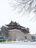 Yuhuang paviljong av Yinchuan Royaltyfri Bild