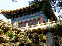 Yujing Pavilion inside Beijing Forbidden City Stock Photography