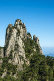 Yujing peaks Stock Photography