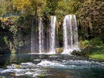 Yukari Düden Şelalesi (Düden Waterfalls) - Antalya - Turkey Stock Photos