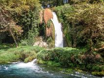 Yukari Düden Şelalesi (Düden Waterfalls) - Antalya - Turkey Stock Images