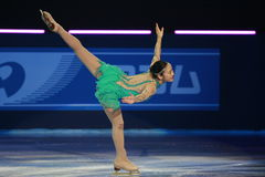 Yukari Nakano. At the Eric Bompard trophy in Paris Bercy the 18 october 2009 Royalty Free Stock Image