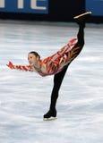 Yukari NAKANO (JPN) free skating Stock Images