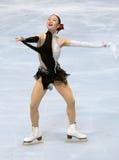 Yukari NAKANO (JPN) short skating Stock Images