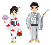 Yukata couple. 