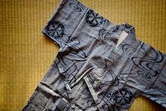 Yukata Japanese-Kleid Stockfoto