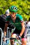 Yukiya ARASHIRO dalla squadra di Europcar Fotografie Stock