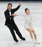 Yuko KAVAGUTI / Alexander SMIRNOV (RUS) Royalty Free Stock Image