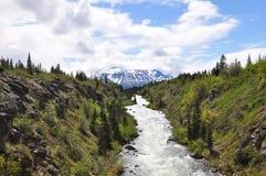 Yukon-Ansicht stockfotografie