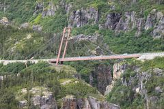 Yukon Bridge Royalty Free Stock Photos
