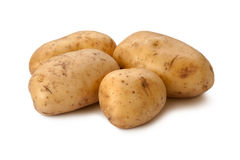 Yukon Gold Potatoes isolated Royalty Free Stock Image