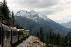 Yukon Railroad Royalty Free Stock Photo